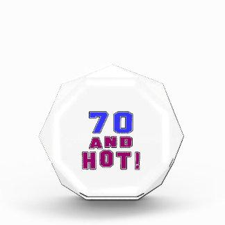 70 birthday designs acrylic award