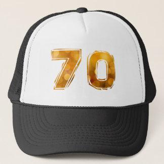 70 birthday trucker hat