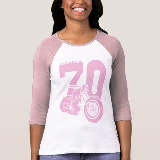 '70 Bobber (crisp pink) Shirt