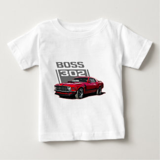 70 Boss 302 red Baby T-Shirt