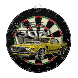 70 Boss 302 Yellow Dart Boards