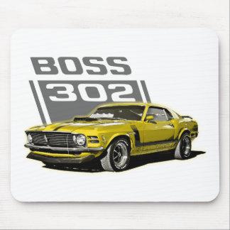 70 Boss 302 Yellow Mousepad