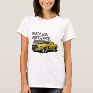 70 Boss 302 Yellow T-Shirt