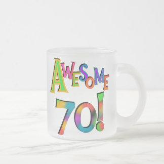 70 camisetas y regalos impresionantes del cumpleañ taza de café