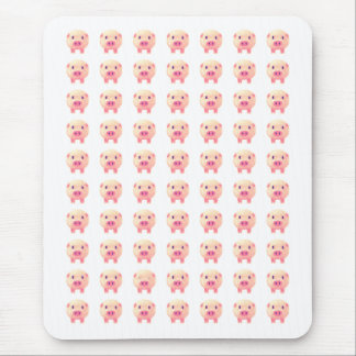 70 cerdos rosados tapetes de raton