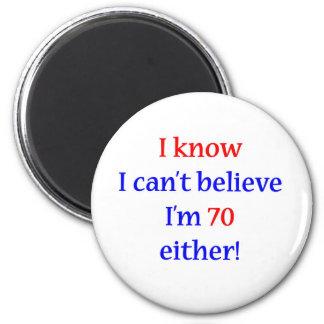 70 cualquiera imán redondo 5 cm