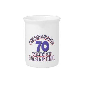 70 diseños del cumpleaños jarras de beber