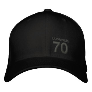 70, Duplessis Embroidered Baseball Cap