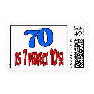 70 es los 7 años 10 perfectos AZULES
