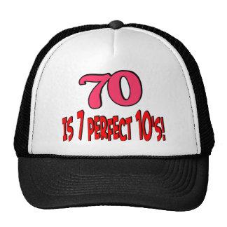70 es los 7 años 10 perfectos (el ROSA) Gorra