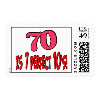 70 es los 7 años 10 perfectos el ROSA