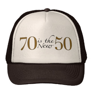 70 es los nuevos 50 gorras