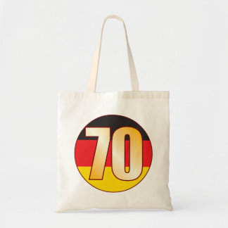 70 GERMANY Gold Tote Bag