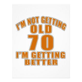 70 I Am Getting Better Letterhead