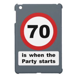 70 is when the Party Starts iPad Mini Covers
