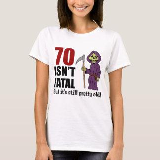 70 Isn't Fatal But Still Old Grim Reaper T-Shirt