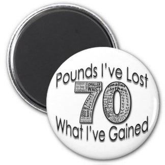 70 libras de imán perdido