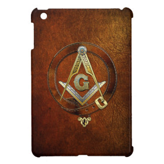 [70] Master Mason, 3rd Degree [Leather Wreath] Case For The iPad Mini