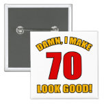 ¡70 miradas buenas! pin