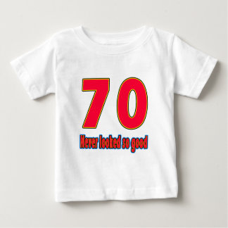 70 never looked so good birthday designs tshirt