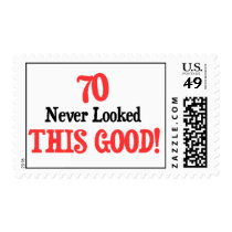 70 Never Looked This Good Postage