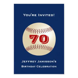 70.o Béisbol de la invitación de la fiesta de