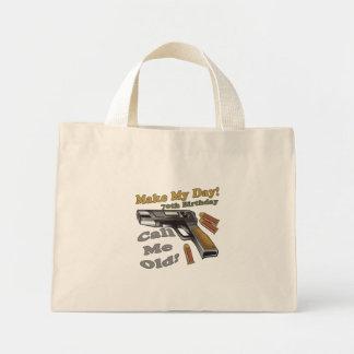 70.o Camisetas y regalos del cumpleaños Bolsa Tela Pequeña