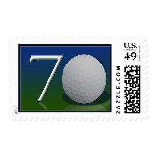 70.o cumpleaños feliz para la nuez del golf envio