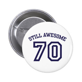 70 o Cumpleaños Pins