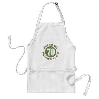 70 o Cumpleaños sobre la colina Delantales