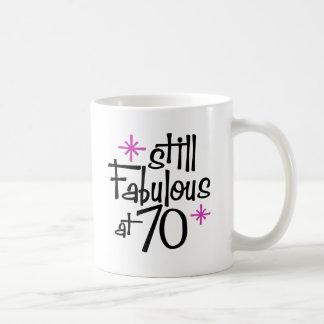 70.o Cumpleaños Taza