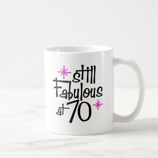 70.o Cumpleaños Taza De Café