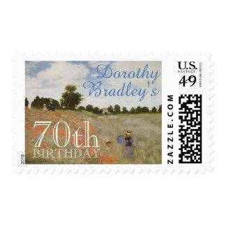 70.o Fiesta de cumpleaños con los sellos