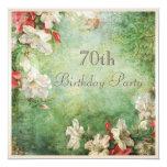 70.o Flores elegantes lamentables del hibisco de Invitación 13,3 Cm X 13,3cm
