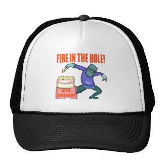 70.o gorra del cumpleaños