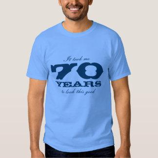 70.o La camisa el | del cumpleaños me tardó 70