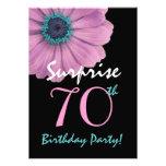 70.o Margarita rosada bonita del cumpleaños de la  Comunicado Personal