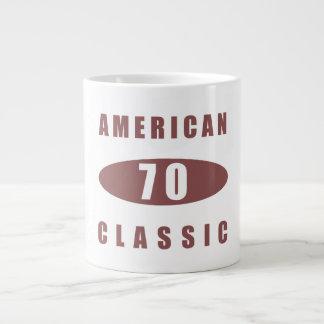 70.o Obra clásica americana Taza Grande