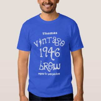70.o Regalo de cumpleaños vintage de 1946 o Camisas