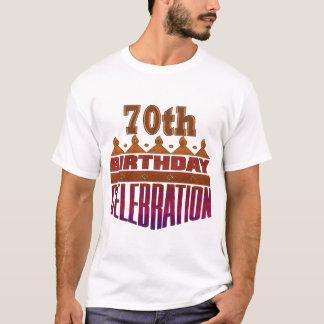 70.o Regalos de la celebración del cumpleaños Playera