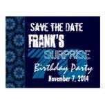 70.o Reserva del cumpleaños de la sorpresa el mode Tarjeta Postal
