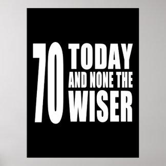 70 os cumpleaños divertidos 70 hoy y ningunos el impresiones