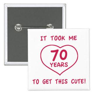 70 os regalos de cumpleaños divertidos corazón pins