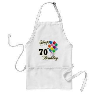 70.os regalos de cumpleaños y ropa felices del cum delantal