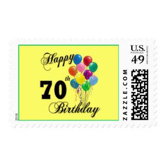 70.os regalos de cumpleaños y ropa felices del estampillas