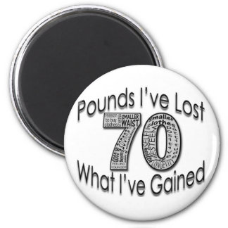 70 Pounds Lost Magnet