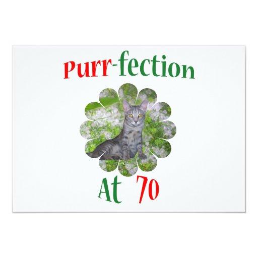 70 Purr-fection Card