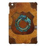[70] Quetzalcoatl [Turquoise] iPad Mini Cover