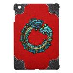 [70] Quetzalcoatl [Turquoise] iPad Mini Covers