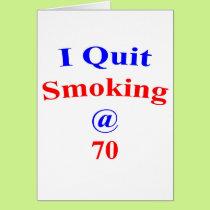 70  Quit Smoking Card